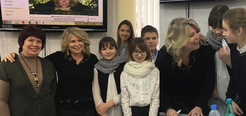 Conte, littérature et thérapie : masterclass en Biélorussie 2019